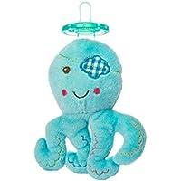 Plush BuccaneerブルーOctopus Wubbanub赤ちゃんおしゃぶりby Mary Meyer
