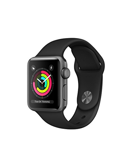 Apple Watch Series3 スペースグレイアルミニウムケースとブラックスポーツバンド アップルウォッチ シリーズ3 本体 (42mm, GPSモデル)