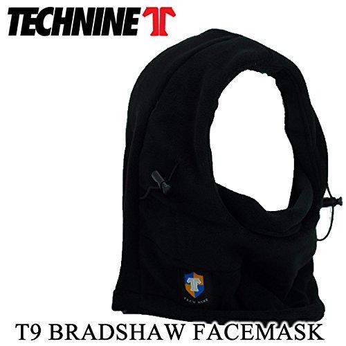 (technine テックナイン) スノーボード フードウォーマー (technine テックナイン)BRADSHAW FLEECE FACEMASK/ブラック スノーボード 帽子 ネックウォーマー フェイスマスク
