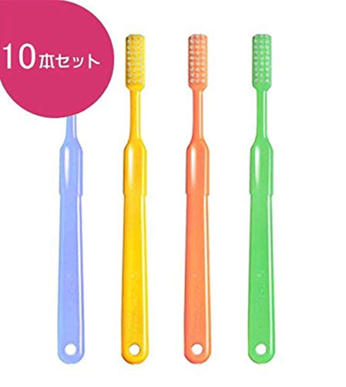 たくさんの実際のすきビーブランド ドクター ビーヤング 歯ブラシ 10本 (ヤングハード)