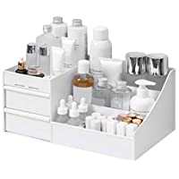 Plastic Desktop Makeup Cosmetic Organizer Storage Box Jewelry Nail Polish Container with Drawers