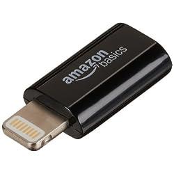 Amazonベーシック マイクロUSBアダプター