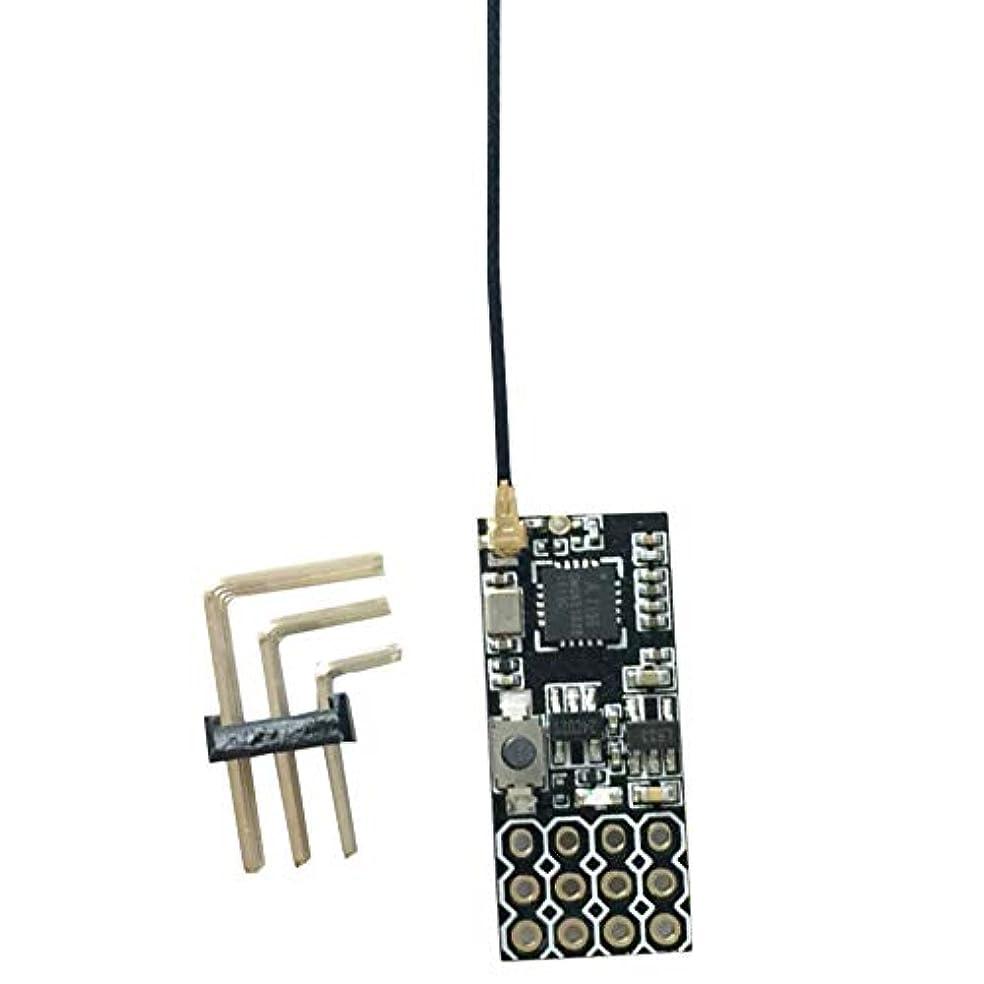 ビバ一生役に立たないTiamu FS2A 4 AFHDS 2A ミニ互換性のあるレシーバー PWM出力 Flysky I6 I6X I6Sトランスミッター用