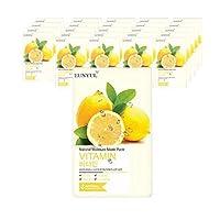 Eunyulナチュラルビタミンマスクパック25枚、Eunyul Natural Vitamin Mask Pack 25 Sheets [並行輸入品]