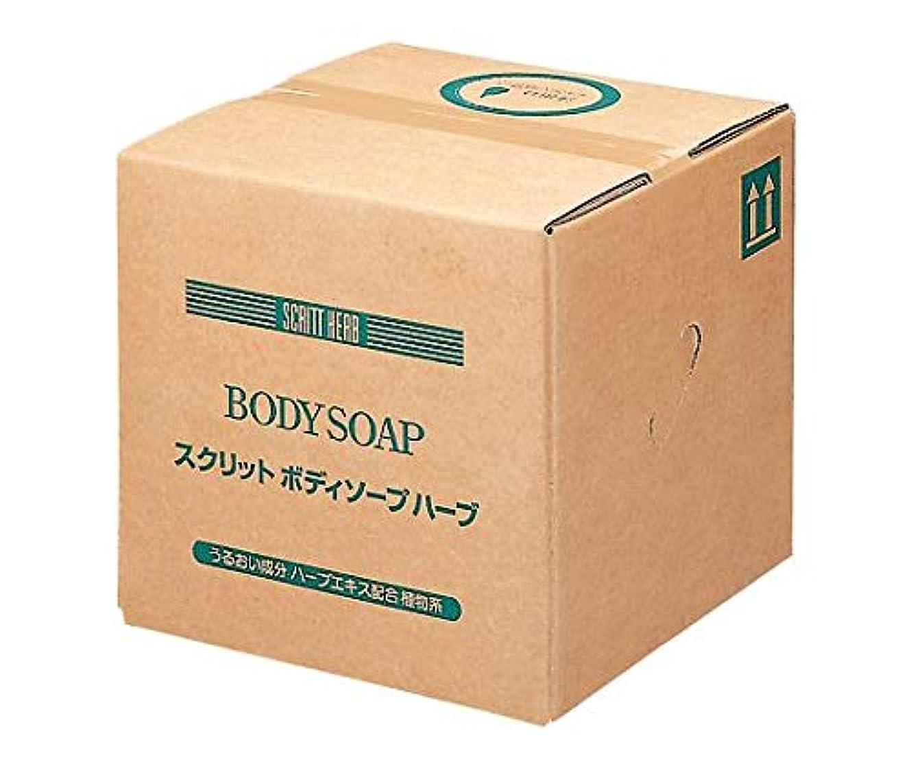 浜辺弾力性のある韓国熊野油脂 業務用 SCRITT(スクリット) ボデイソ-プ 18L