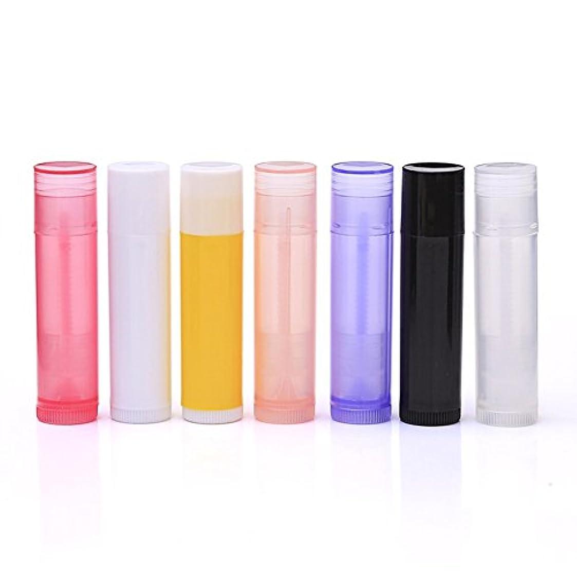 MeterMall  10個/セット5 ml DIYリップスティック真空ボトルリップスティックリップチューブリップスティックチューブ容器化粧品サンプル容器 Transparent