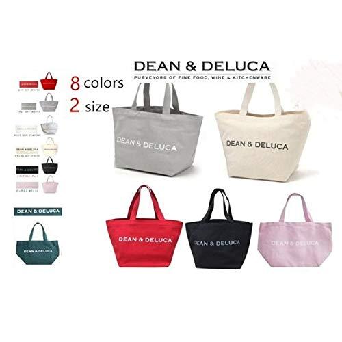 DEAN&DELUCA ディーン&デルーカ トートバック エコバッグ  コットン レディースL/S 8色