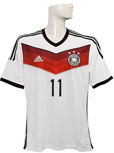 (アディダス) adidas 14 15ドイツ代表 ホーム 半袖 AE136 クローゼ G87445 L