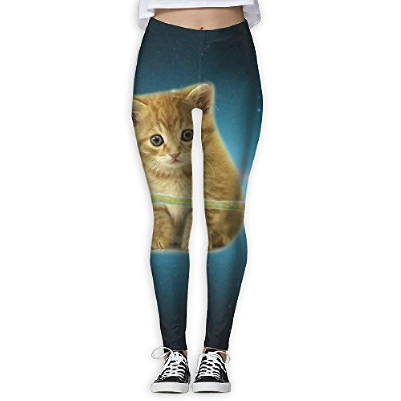 Onliny 宇宙で失った猫 カラフル ヨガウェア ヨガパンツ レギンス レディース ホットヨガ パンツ Fitness フィットネス ダイエット