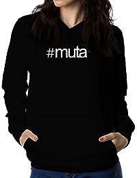 Hashtag Muta 女性 フーディー