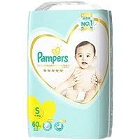 《ケース》 P&G パンパース はじめての肌へのいちばん テープ スーパージャンボ Sサイズ 4~8kg 男女共用 (60枚)×4個 テープタイプおむつ 【P&G】
