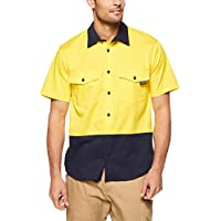 Tradie Men's HI VIS SS Shirt