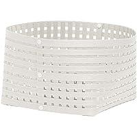 かご バスケット 収納 おしゃれ 天然素材 インテリア 日本製 Bandc Basket L3 ホワイト