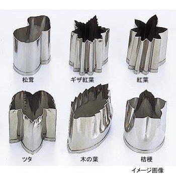 EBM 18-8 手造り業務用 抜型 秋 ギザ紅葉 バラB...