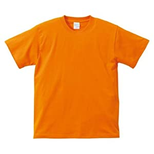 (ユナイテッドアスレ)UnitedAthle 5.6オンス ハイクオリティー Tシャツ 500101 064 オレンジ L