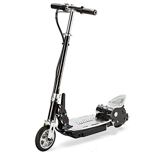 Bullet TRZ 140W Mini Adjustable and Foldable Electric Scooter with Charger, Chrome