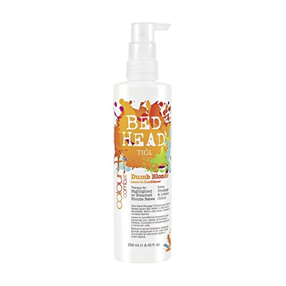 服グラディスメルボルンTIGI Bed Head Colour Combats Dumb Blonde Leave In-Conditioner 250ml (並行輸入品)