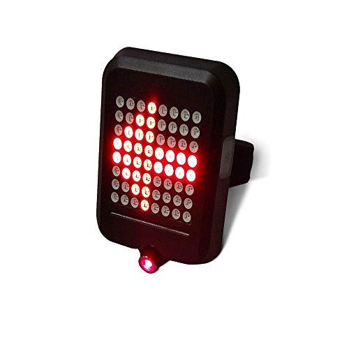 UPSLON ライト 自転車テールライト セーフティーライト オートリアライト ワイヤレスウインカー USB充電 重力センサー 自動ウィンカー LED超高輝度 IP55防水