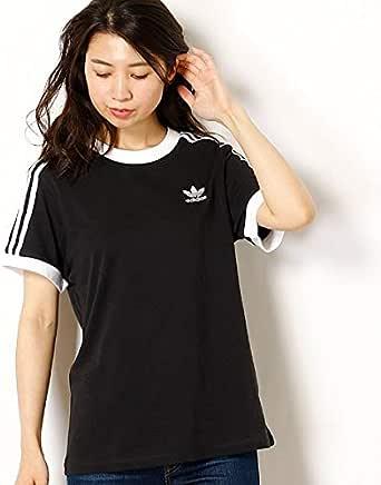 アディダス オリジナルス(adidas originals) 【アディダスオリジナルス】レディースTシャツ(3 STRIPES TEE)【クロ/J/L】