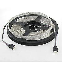5M 16.4フィート150のLED 5050 SMD電球防水RGBライトストリップDC 12V