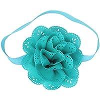 C-Princess ベビーコスチューム ヘアバンド ヘッドバンド 髪飾り 髪留め カチューシャ お花 かわいい キッズ 赤ちゃん 女の子 フォーマル ドレスにぴったり ブルー