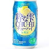 宝酒造 粋な雫チューハイ レモン 350ml 1ケース24本