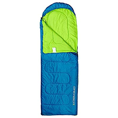 Single Camping Sleeping Bag for Backpacking, Hiking - 220 x 75 cm