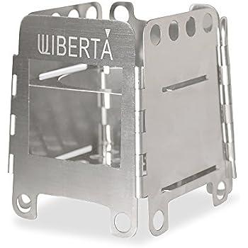 WIBERTA(ウィベルタ) 焚き火台 焚火台 薪 ウッドストーブ コンパクト 軽量タイプ