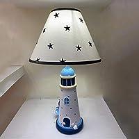 RXY-101 寝室ベッドサイドランプ子供部屋かわいい漫画アイケアテーブルランプシンプル暖かい装飾的なテーブルライト (Color : B)