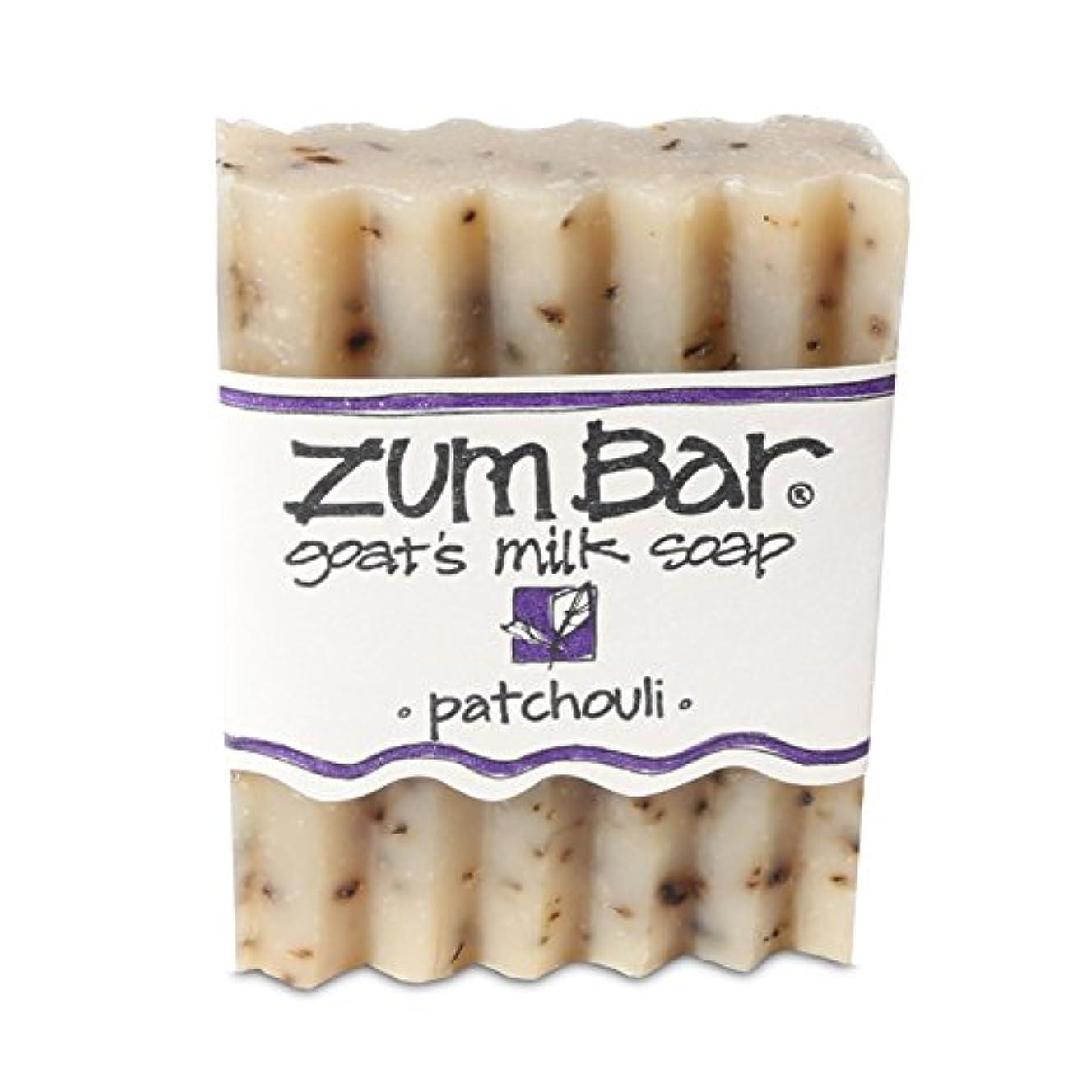 ブルーベルフラフープ回復する海外直送品 Indigo Wild, Zum Bar, Goat's ミルク ソープ パチョリ, 3 Ounces (2個セット) (Patchouli) [並行輸入品]