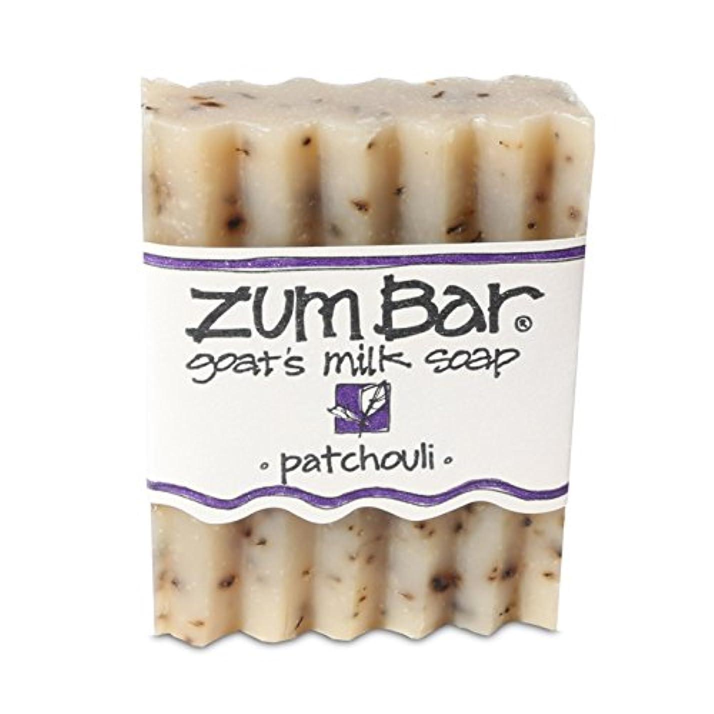 シルエット戦略マエストロ海外直送品 Indigo Wild, Zum Bar, Goat's ミルク ソープ パチョリ, 3 Ounces (2個セット) (Patchouli) [並行輸入品]