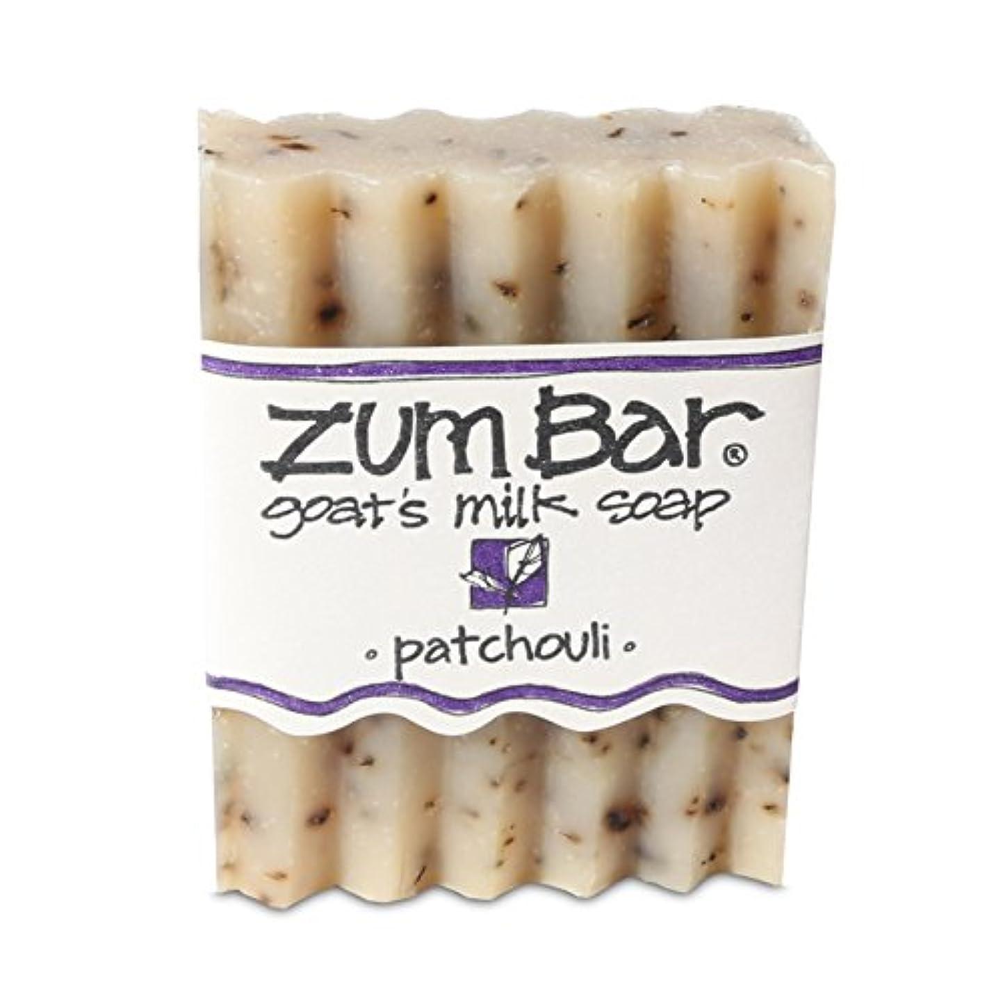 海外直送品 Indigo Wild, Zum Bar, Goat's ミルク ソープ パチョリ, 3 Ounces (2個セット) (Patchouli) [並行輸入品]