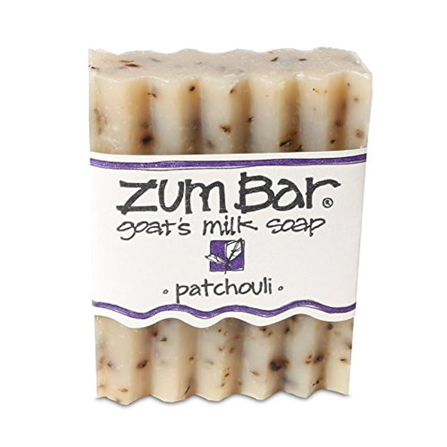 特徴開業医茎海外直送品 Indigo Wild, Zum Bar, Goat's ミルク ソープ パチョリ, 3 Ounces (2個セット) (Patchouli) [並行輸入品]