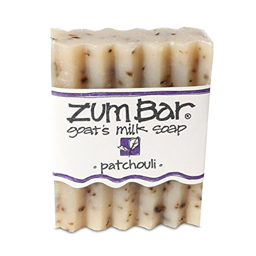 費用ブリリアント胚芽海外直送品 Indigo Wild, Zum Bar, Goat's ミルク ソープ パチョリ, 3 Ounces (2個セット) (Patchouli) [並行輸入品]