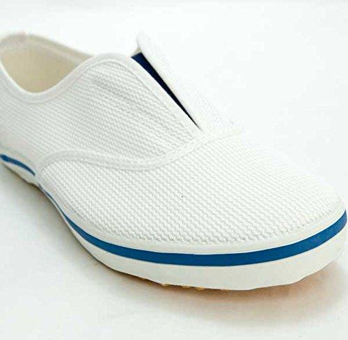 ムーンスター スクールエース3型 上履き 上靴 室内履き 体育館シューズ 21-30cm (25.0, ブルー)
