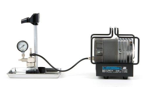 GSIクレオス Mr.リニアコンプレッサー L7/圧力計付レギュレーター PS307