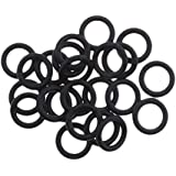 HOMYL 25Pcs Engine Primary Twin Cam Oil Drain Plug O-Ring for Harley