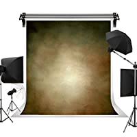 Kate 3x6m 茶色の背景布 グラデーションの背景 ブラウンの背景 ビンテージ背景 ポートレート写真の背景 写真スタジオ 撮影用 背景布 写真撮影用の背景幕 装飾用 無反射布 スエードの背景 カスタマイズ可能な背景