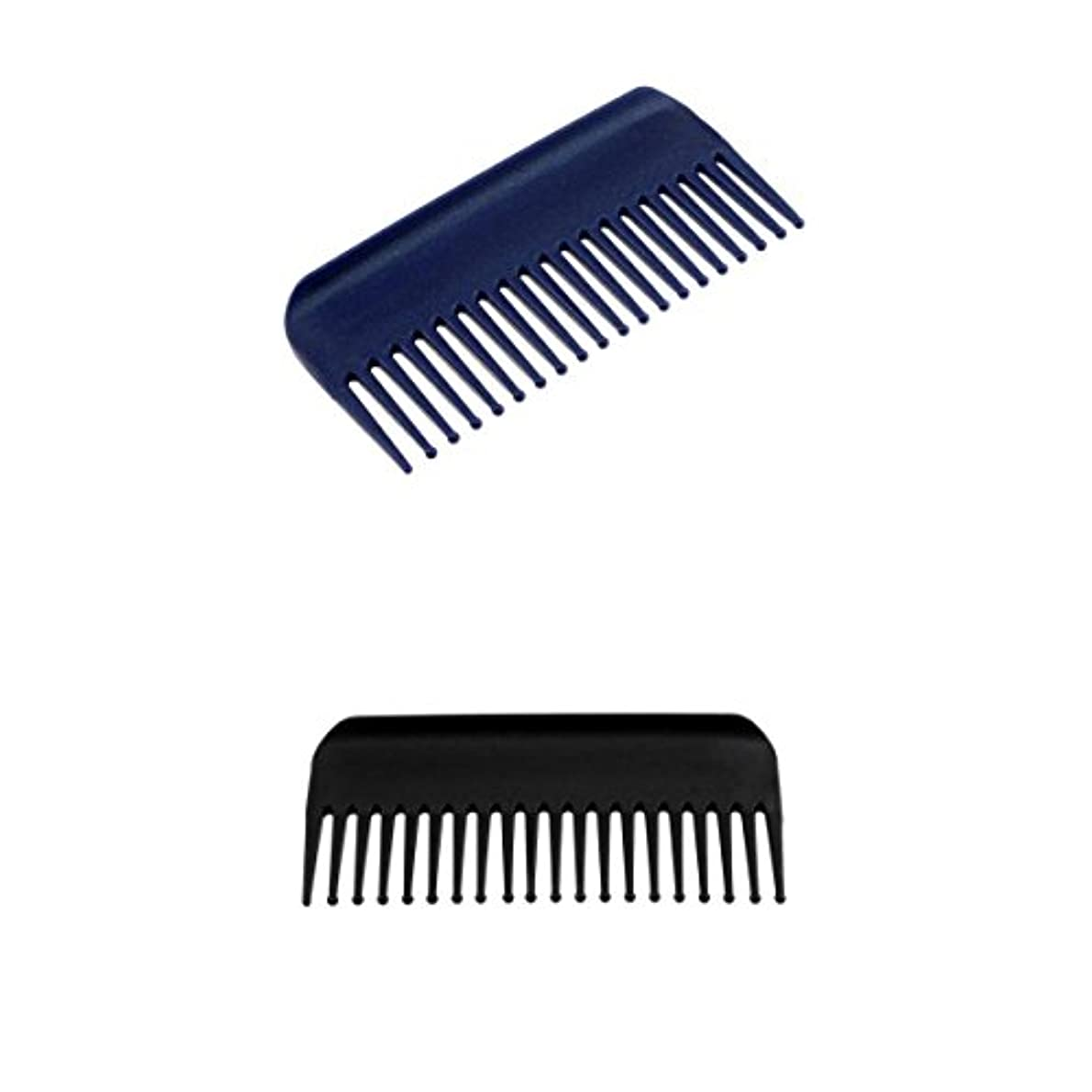 貞どれでも実業家2個19歯解くこと髪くしヘアコンディショニングレーキくしワイド歯ヘアブラシサロン理容ツール