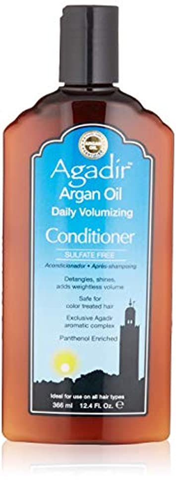 旅解明する短命by Agadir ARGAN OIL DAILY VOLUME CONDITIONER 12.4 OZ by AGADIR