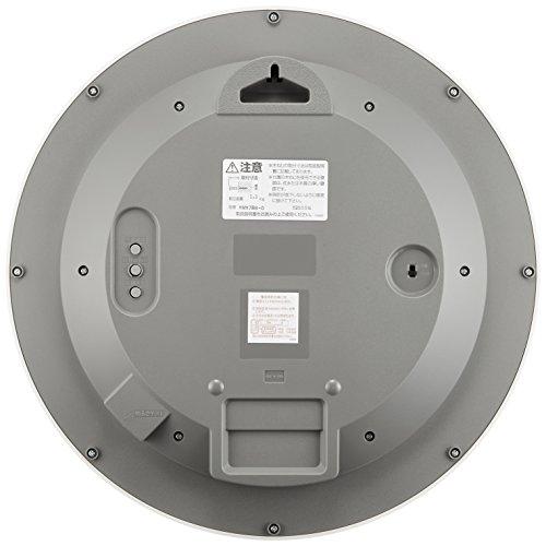 CITIZEN ( シチズン ) 電波 ソーラー 掛け時計 エコライフM788 エコマーク グリーン購入法 適合商品 オフィス 白 4MY788-003