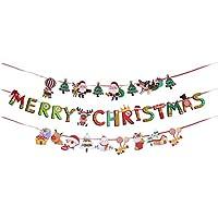 クリスマス飾り付け 飾り 装飾 壁飾り (3種類)
