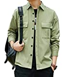 『[Corelagu(コアラージュ)] チェスト ポケット シャツジャケット アウター 長袖 カジュアル 春 秋 ファッション メンズ』画像