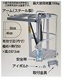 ハラックス ドラゴン 高強度アルミ合金製 高所作業用ゴンドラ (フリーロック型ガススプリング方式) (GD-5045)