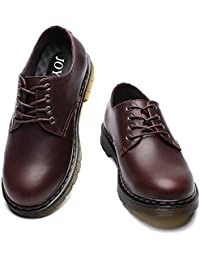 [JOYWAY] マーチンシューズ メンズ エンジニアシューズ 3E 本革 BOOTS ワークブーツ定番 ショートブーツ ブラック ブラウン イエロー