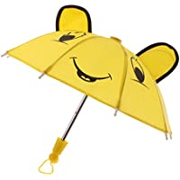 Dovewill 18インチ アメリカン女の子人形  ドール対応  素敵  傘  イエロー