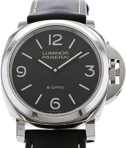 パネライ PANERAI ルミノール ベース 8デイズ アッチャイオ PAM00560 ブラック文字盤 新品 腕時計 メンズ (PAM00560) [並行輸入品]