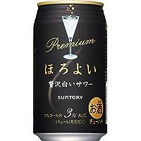 サントリー プレミアムほろよい〈贅沢白いサワー〉 350ml ×48本(個)