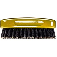 Wave Brush #1440 - By Brush King - Firm Medium, 13 Row Square Palm/Military 360 Waves Brush