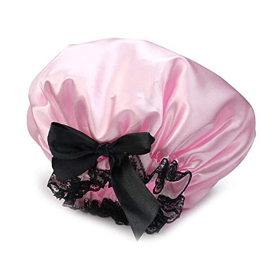 アンデス山脈振り返る部門Orient Direct 女性の女の子のための入浴キャップゴムバンドシャワー帽子髪の入浴キャップ